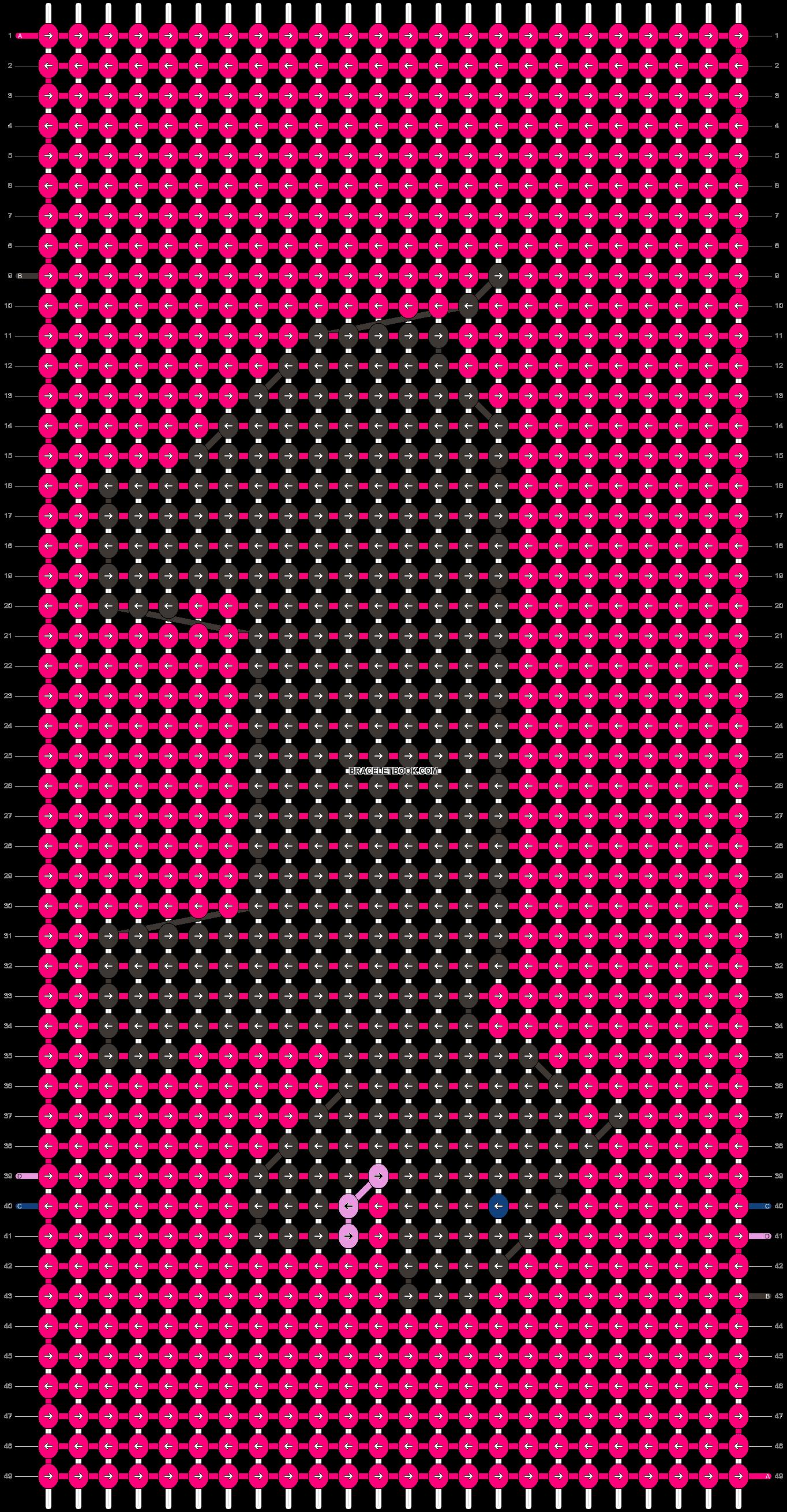 Alpha pattern #13586 pattern