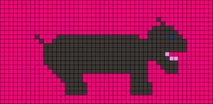 Alpha pattern #13586