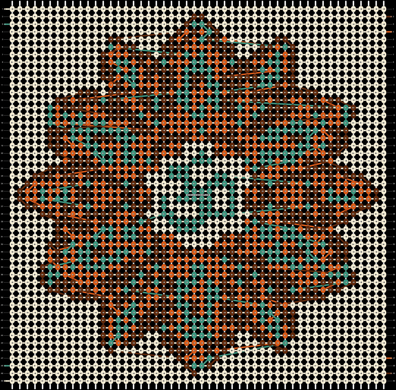 Alpha pattern #13587 pattern