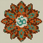 Alpha pattern #13587