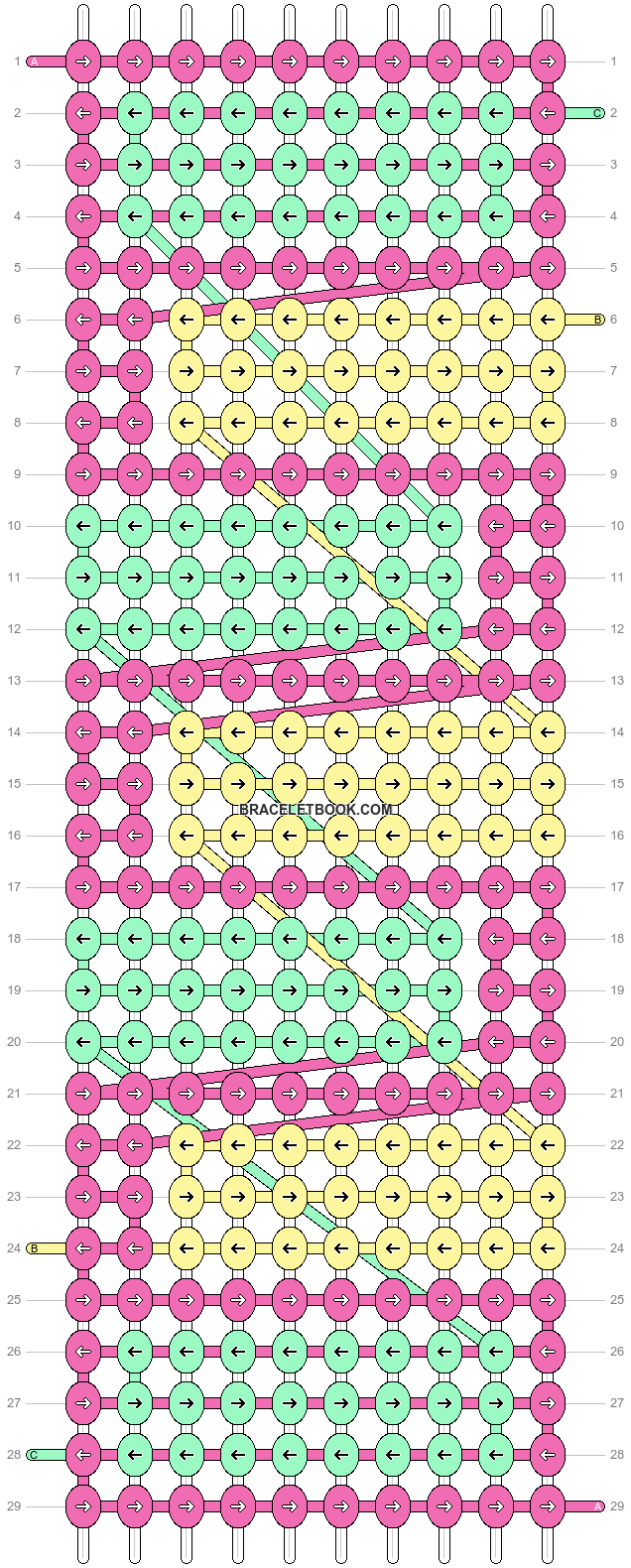 Alpha pattern #13588 pattern