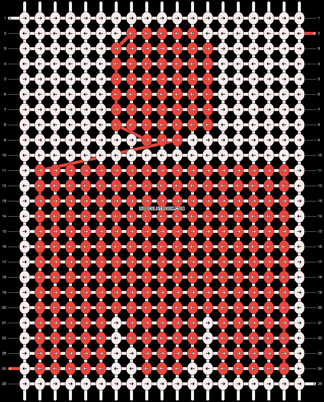 Alpha pattern #13590 pattern