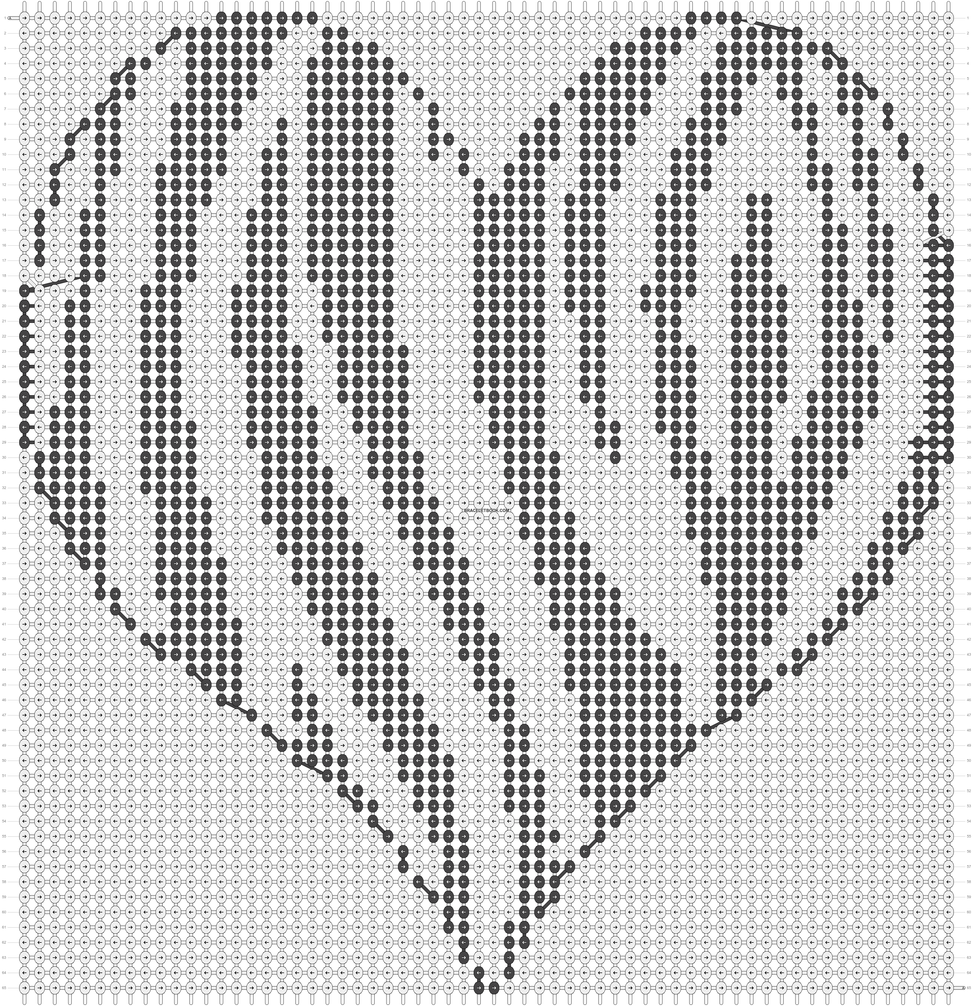 Alpha pattern #13594 pattern