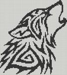 Alpha pattern #13596