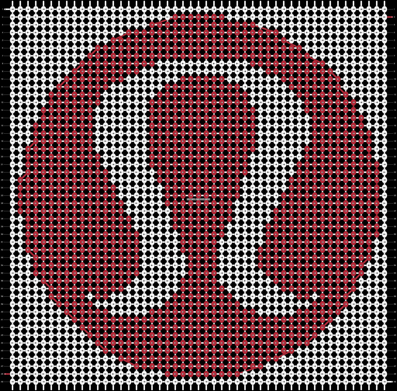 Alpha pattern #13599 pattern
