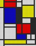Alpha pattern #13605