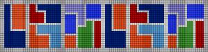 Alpha pattern #13606