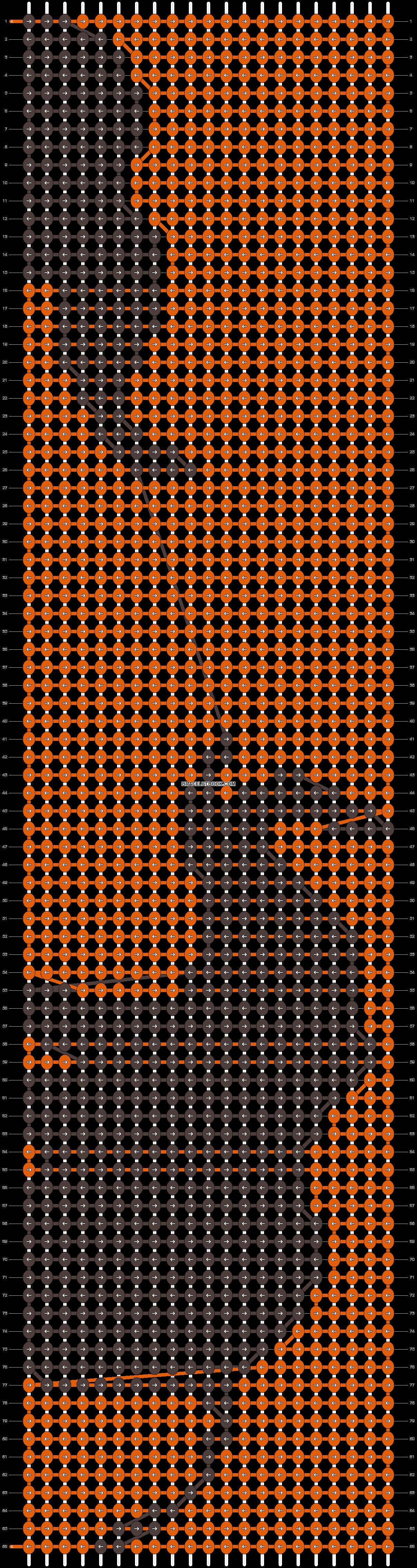 Alpha pattern #13607 pattern