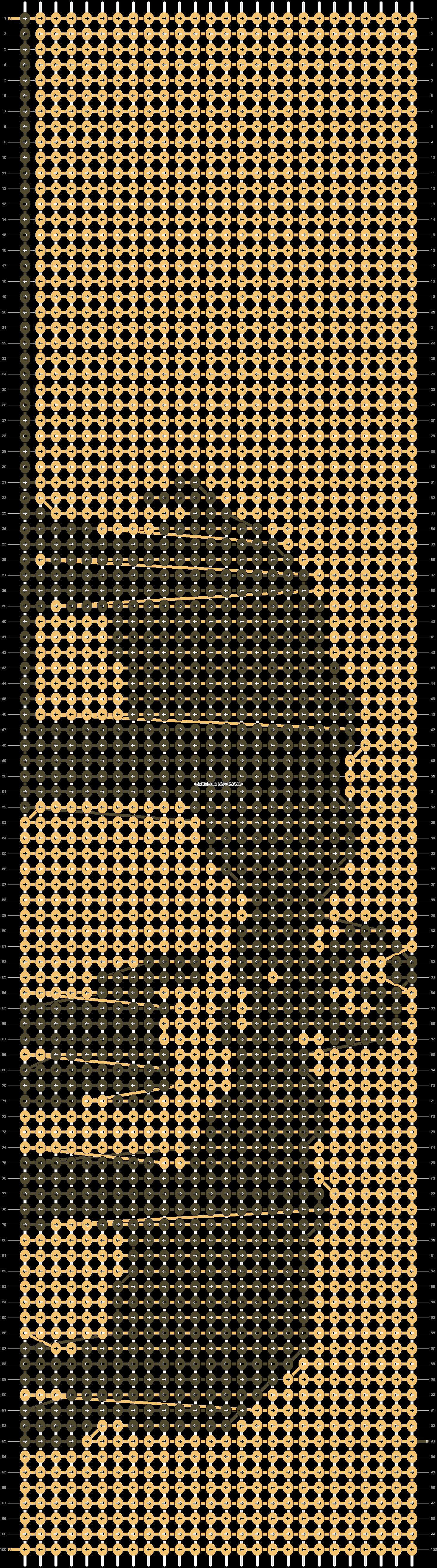 Alpha pattern #13610 pattern