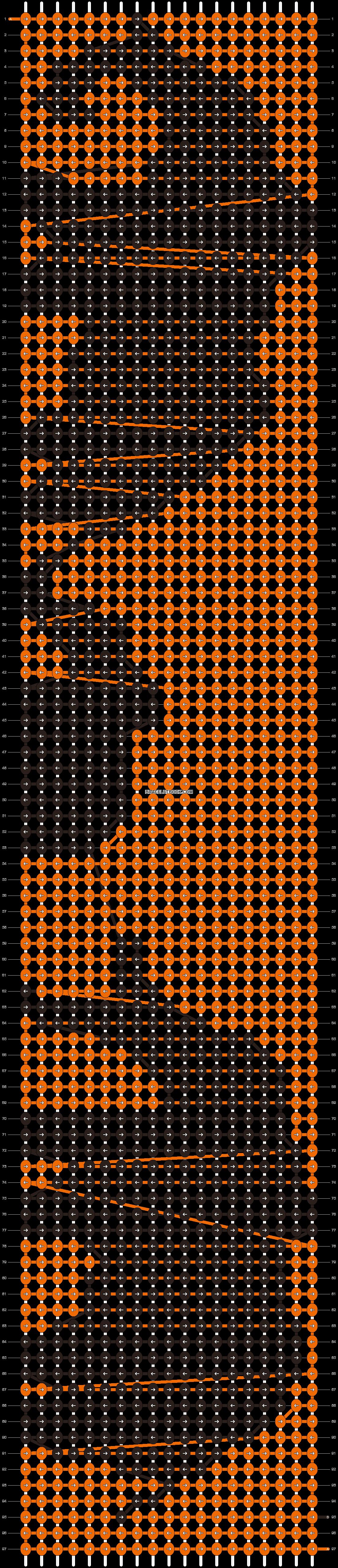 Alpha pattern #13611 pattern