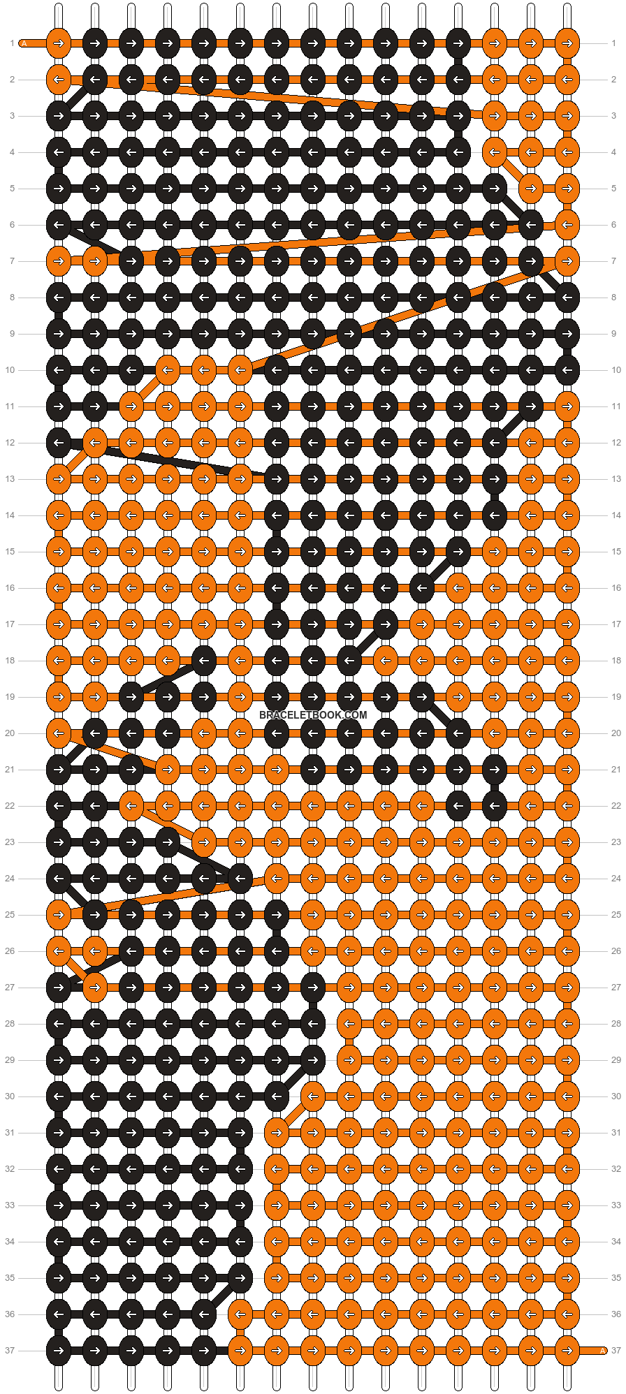 Alpha pattern #13612 pattern