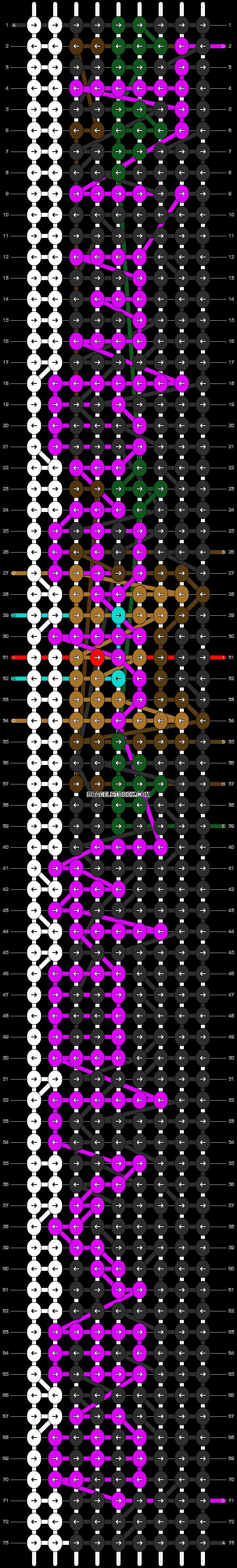 Alpha pattern #13624 pattern