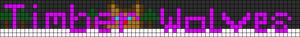 Alpha pattern #13624