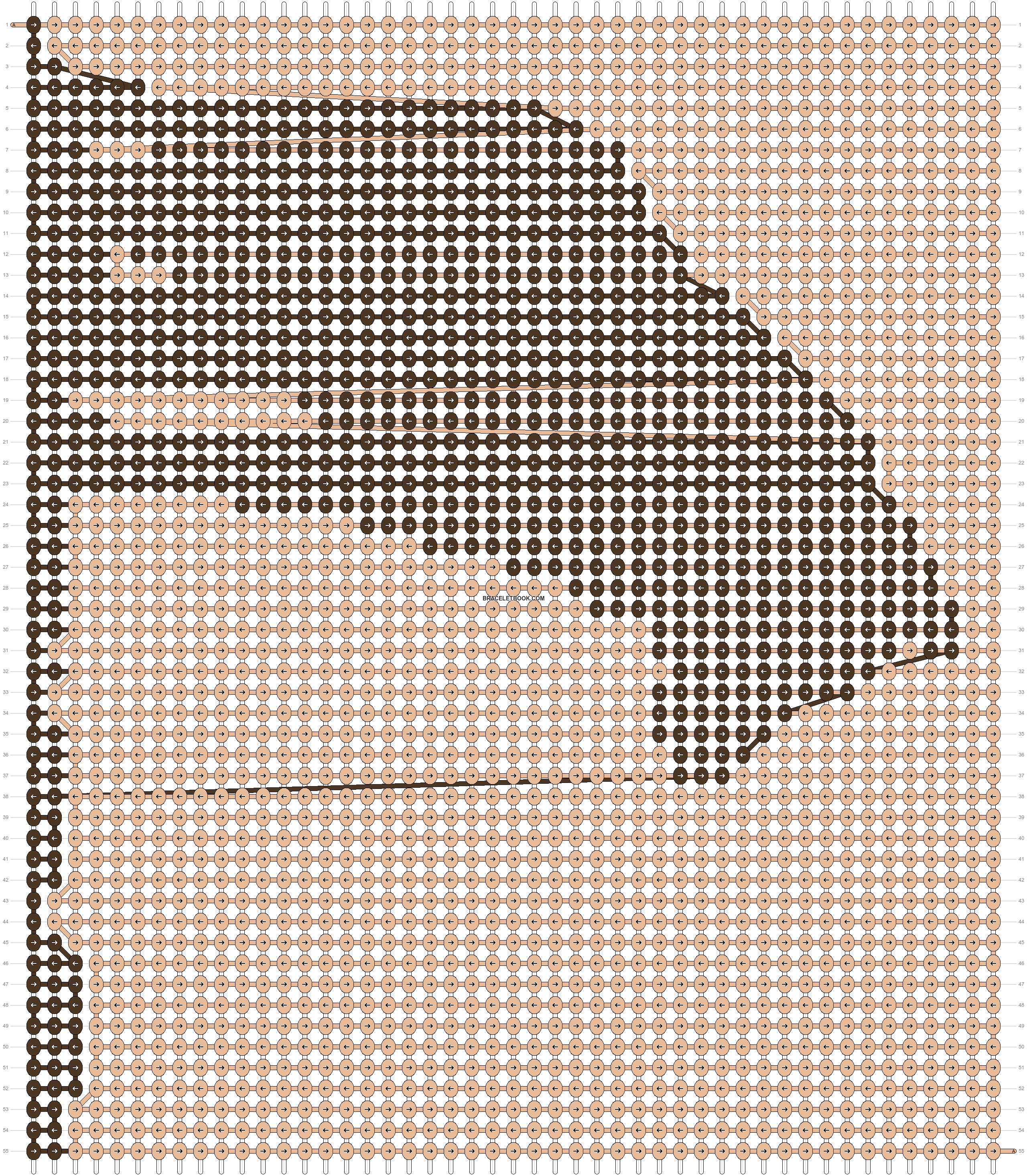 Alpha pattern #13628 pattern