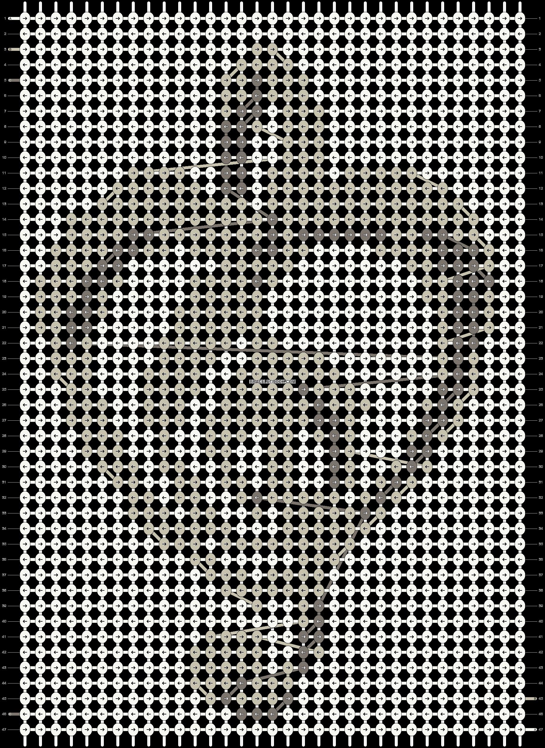 Alpha pattern #13635 pattern