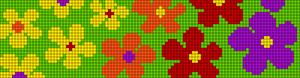 Alpha Friendship Bracelet Pattern #13638
