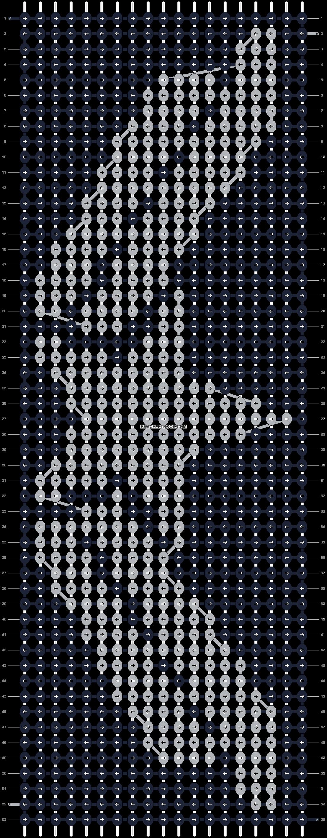 Alpha pattern #13640 pattern