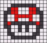 Alpha Friendship Bracelet Pattern #13643