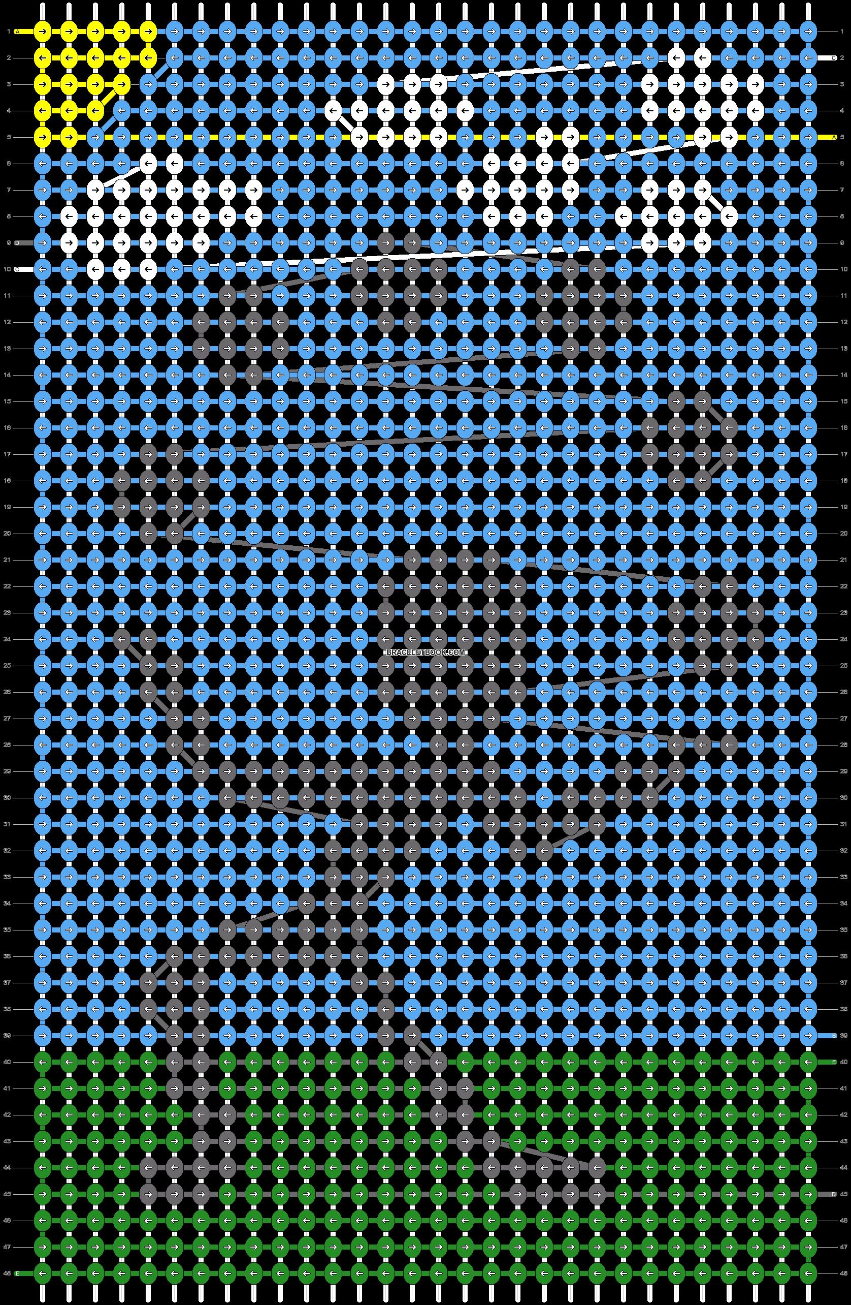 Alpha pattern #13647 pattern