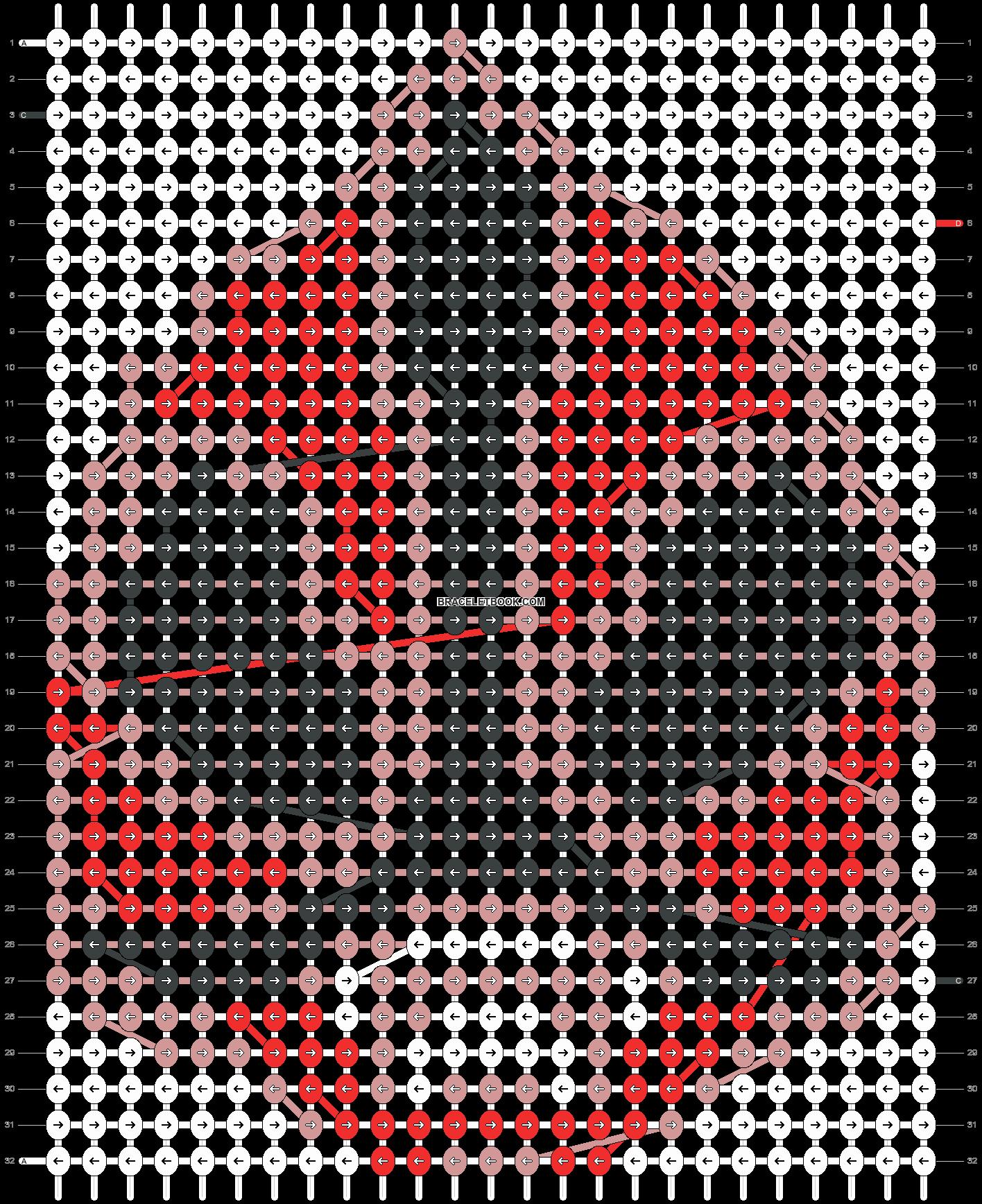 Alpha pattern #13648 pattern