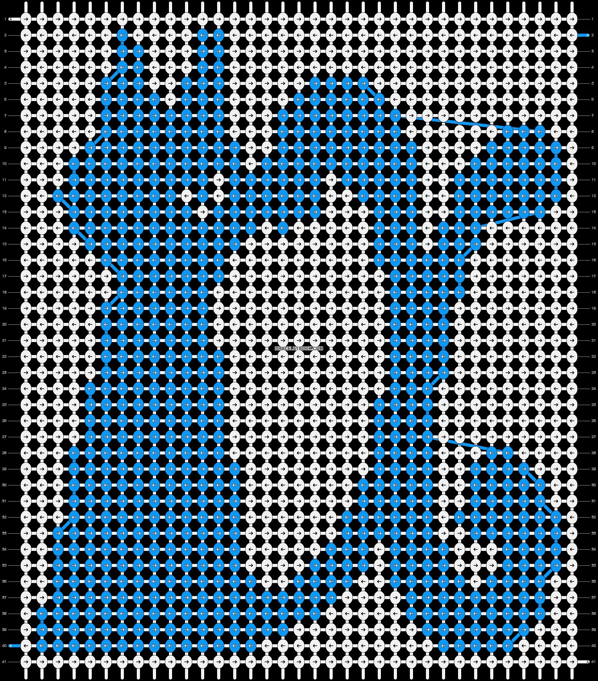 Alpha pattern #13654 pattern