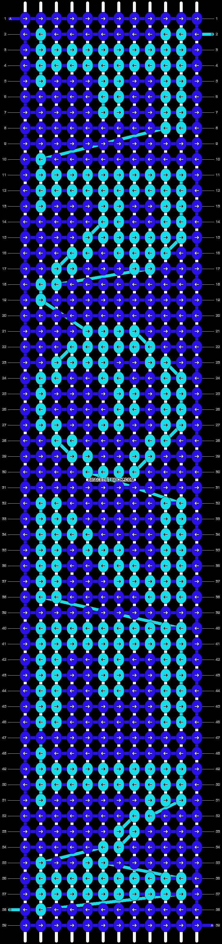 Alpha pattern #13660 pattern