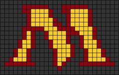 Alpha pattern #13664