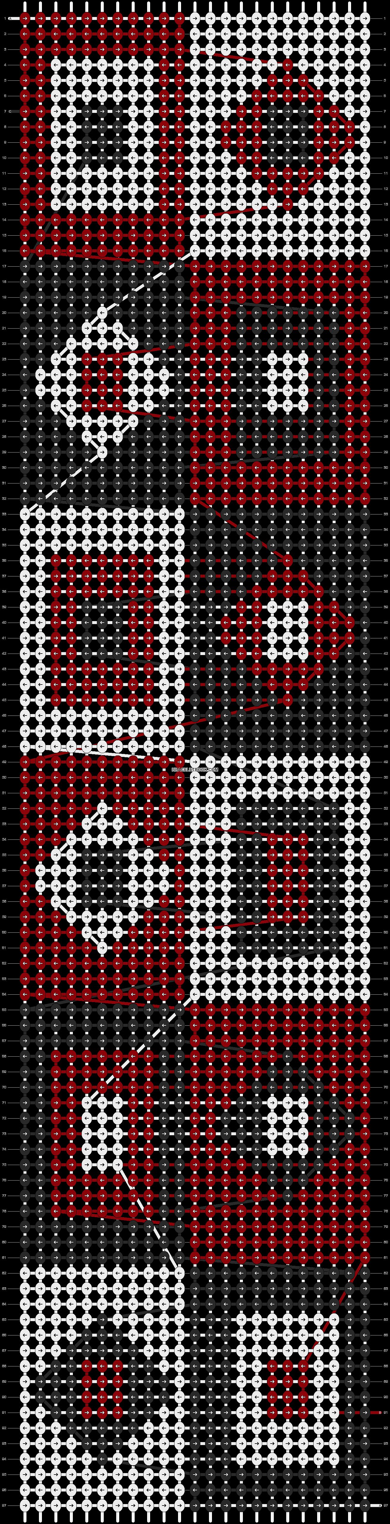 Alpha pattern #13666 pattern