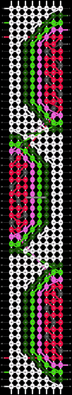 Alpha pattern #13668 pattern