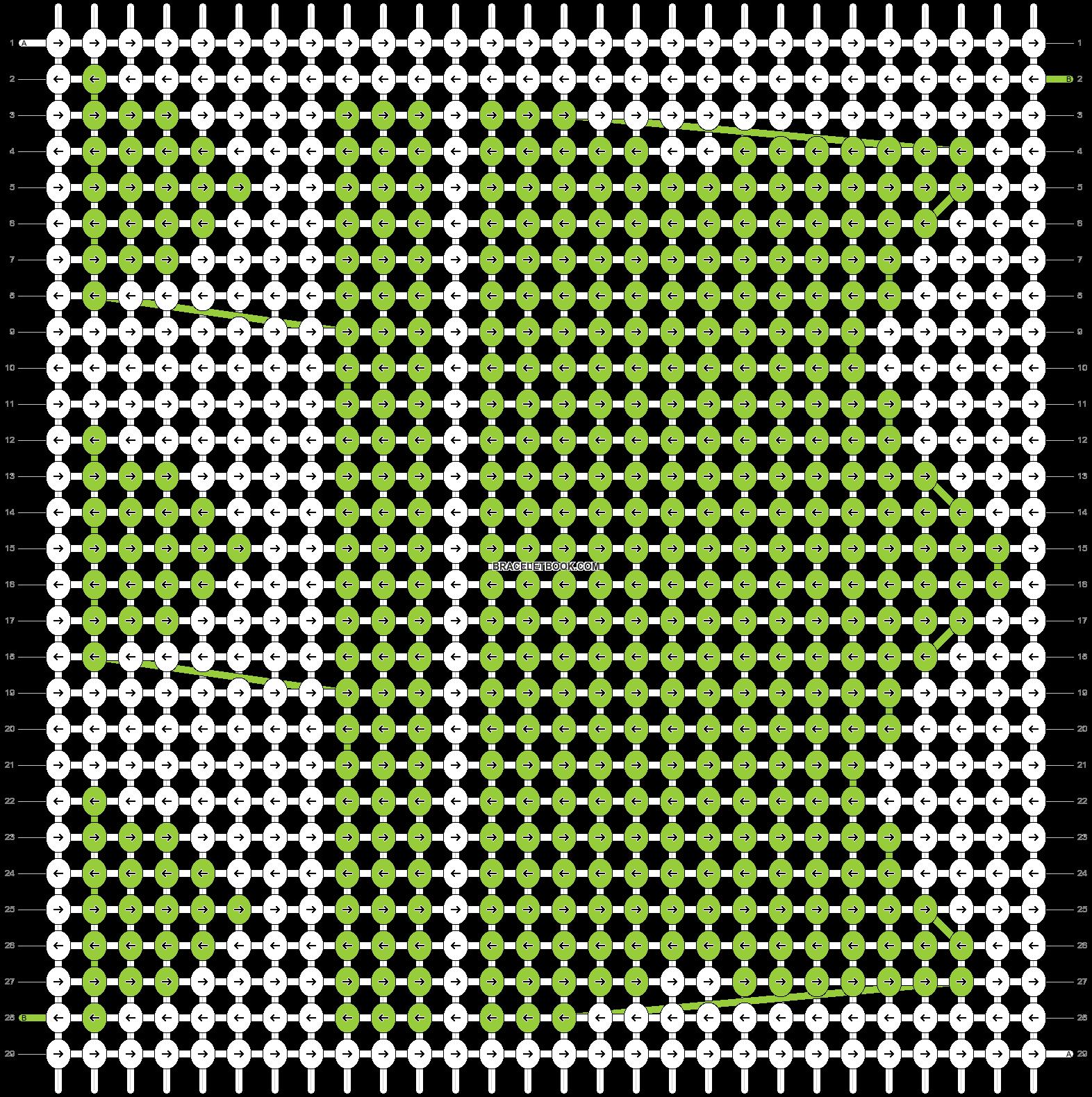 Alpha pattern #13671 pattern