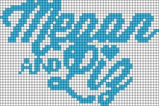 Alpha pattern #13677