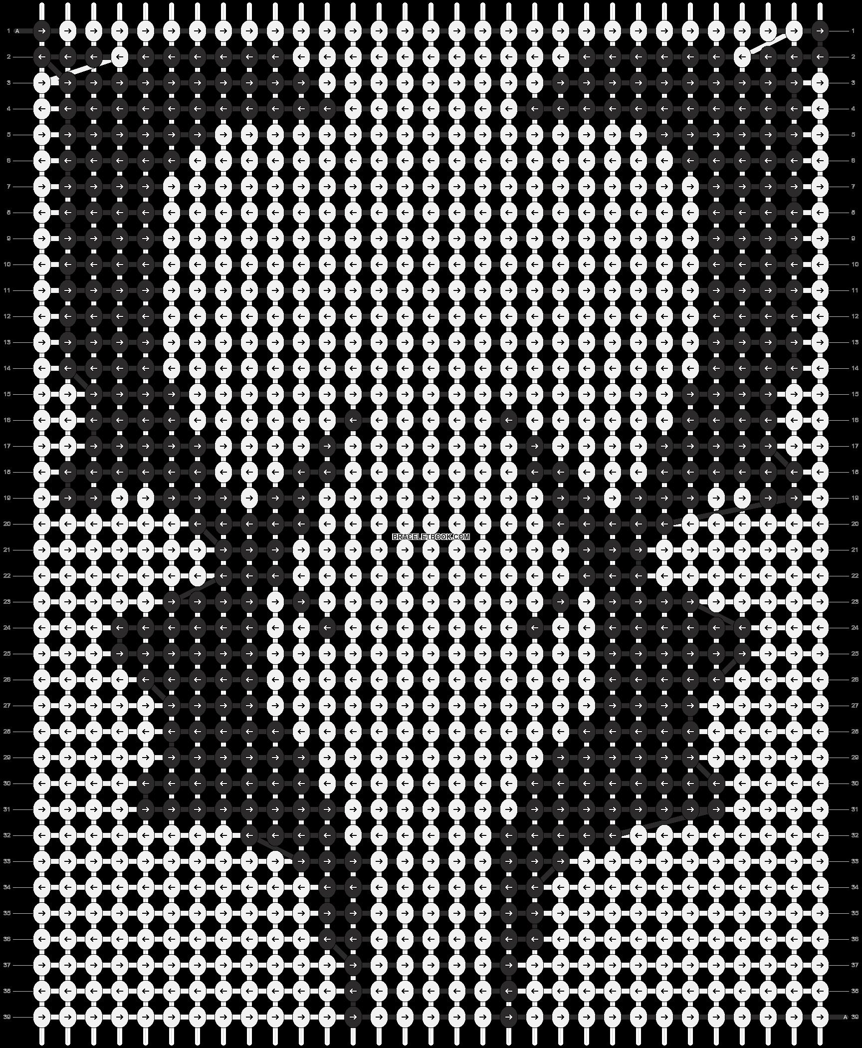 Alpha pattern #13680 pattern