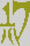 Alpha pattern #13681
