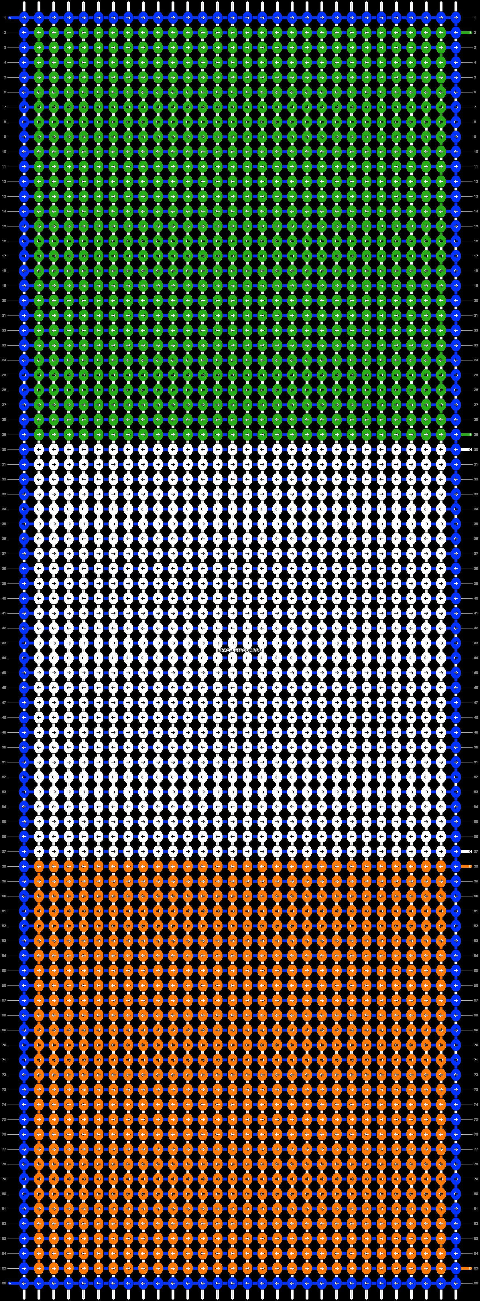 Alpha pattern #13688 pattern