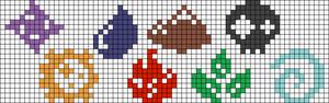 Alpha Friendship Bracelet Pattern #13694
