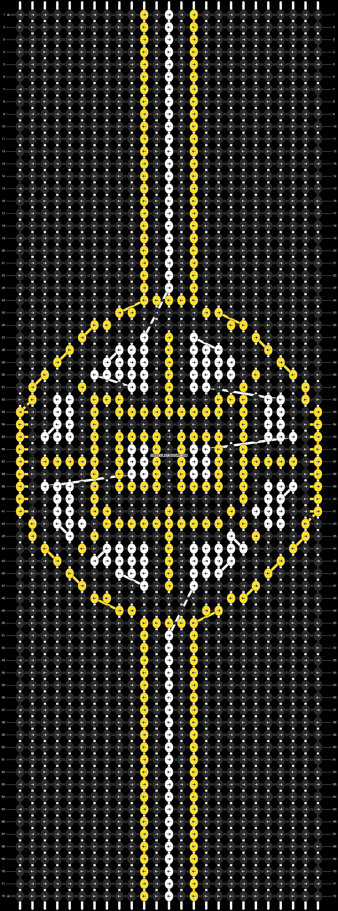 Alpha pattern #13695 pattern