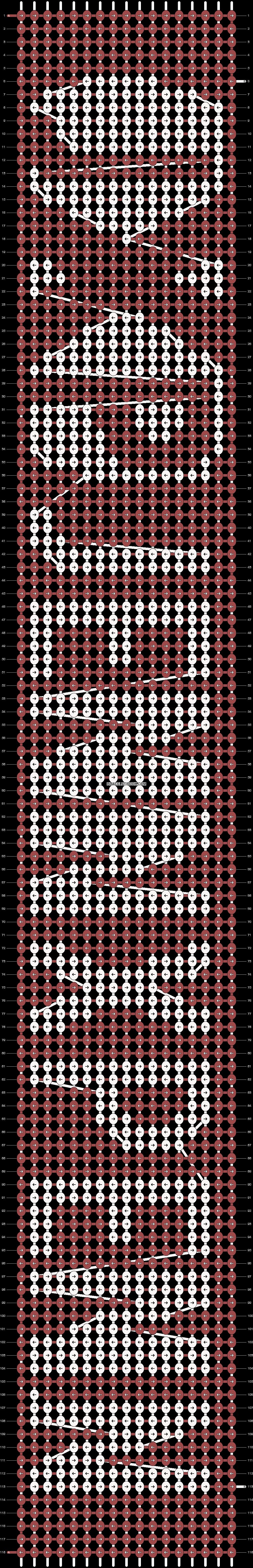 Alpha pattern #13698 pattern