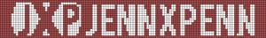 Alpha pattern #13698