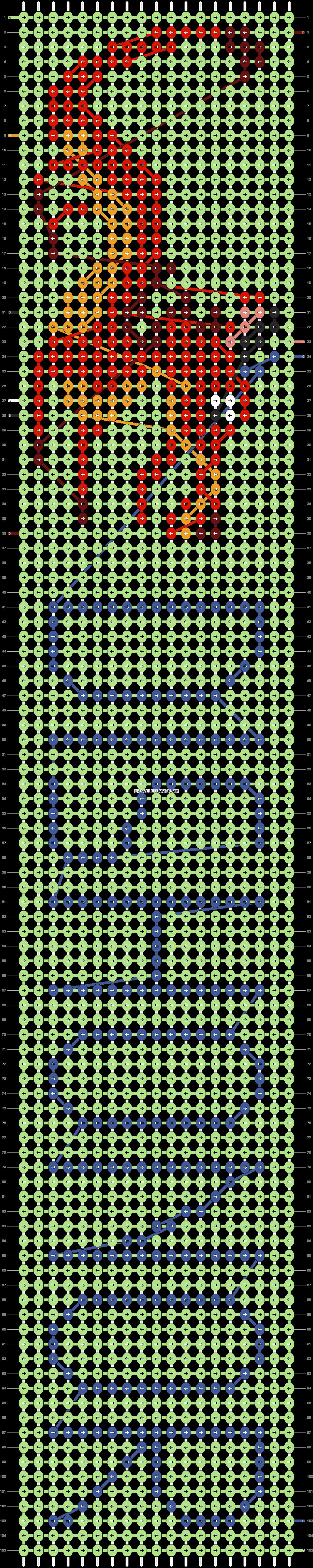 Alpha pattern #13700 pattern