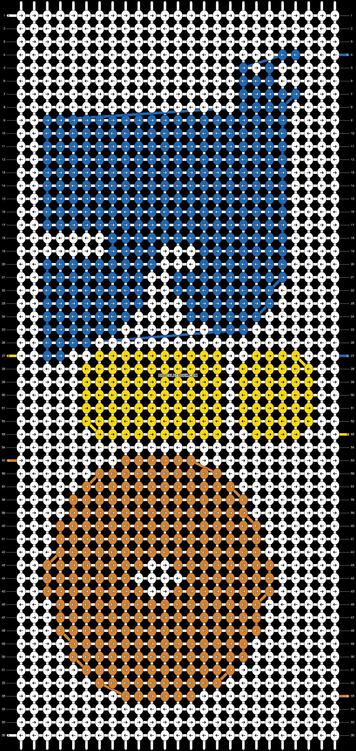 Alpha pattern #13701 pattern