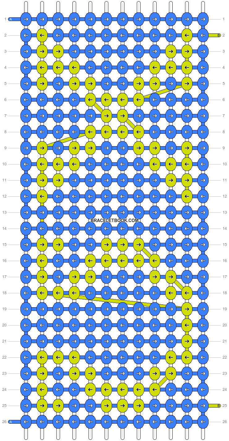 Alpha pattern #13705 pattern