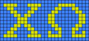 Alpha pattern #13705