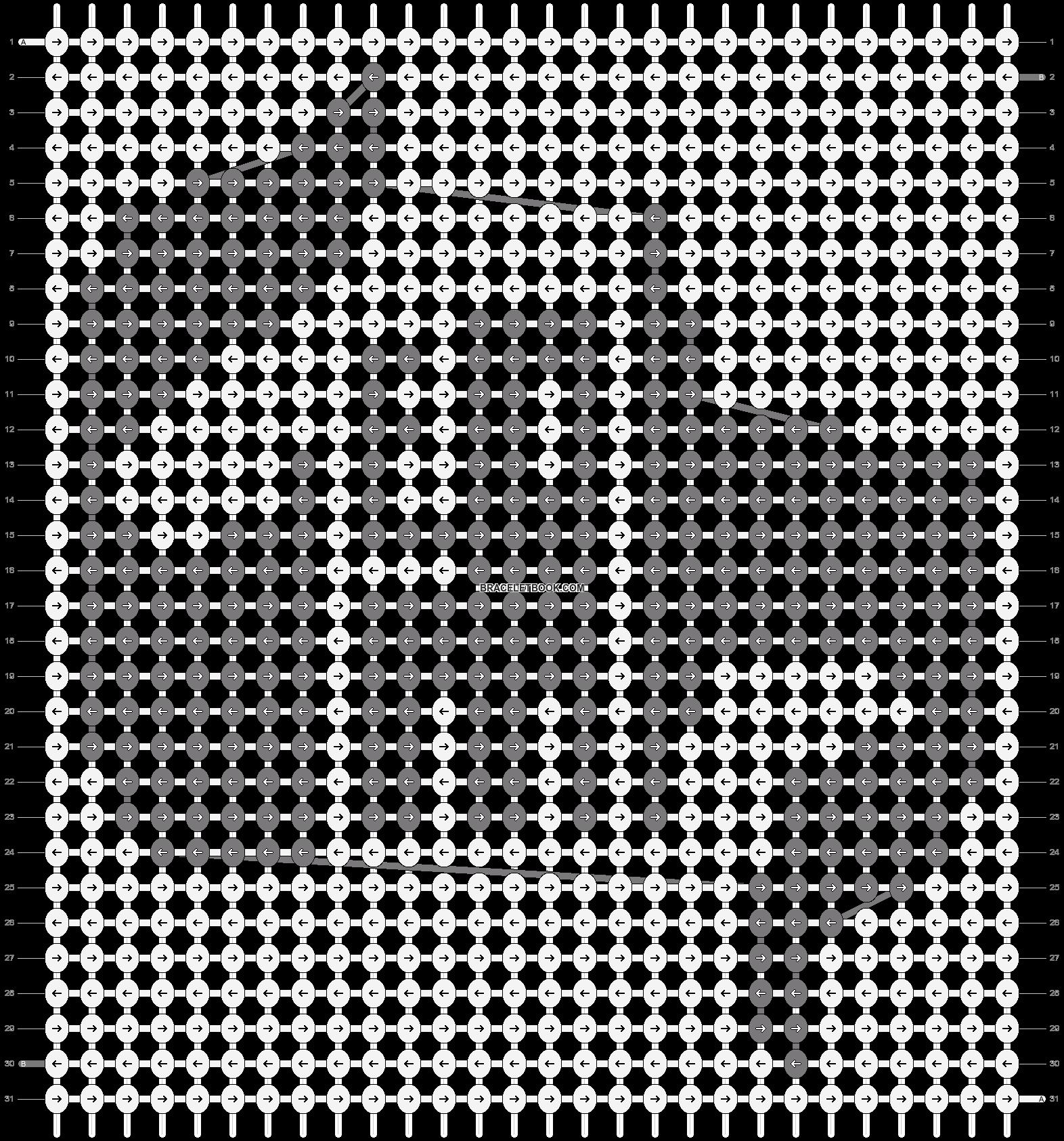 Alpha pattern #13706 pattern