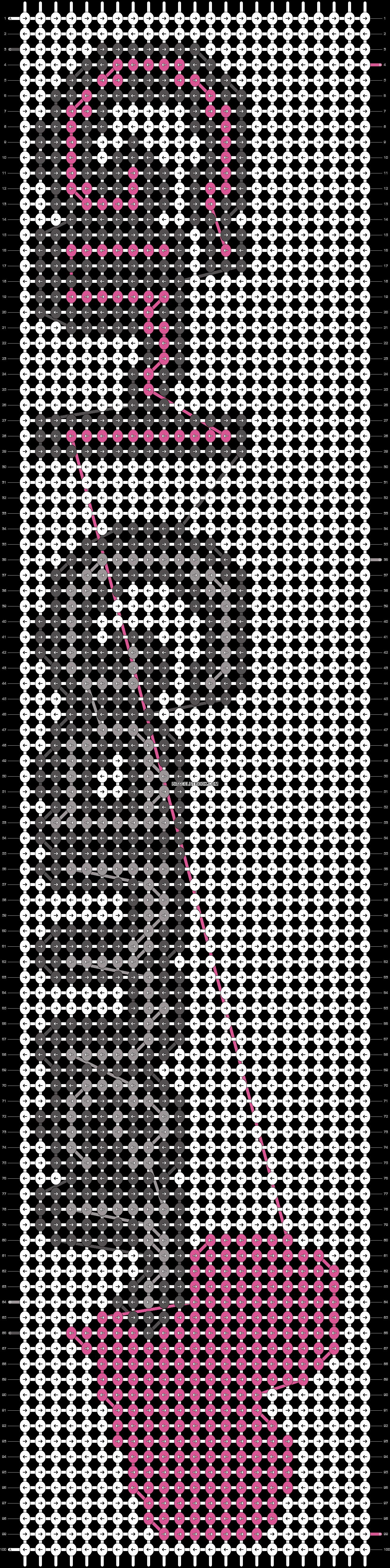 Alpha pattern #13728 pattern