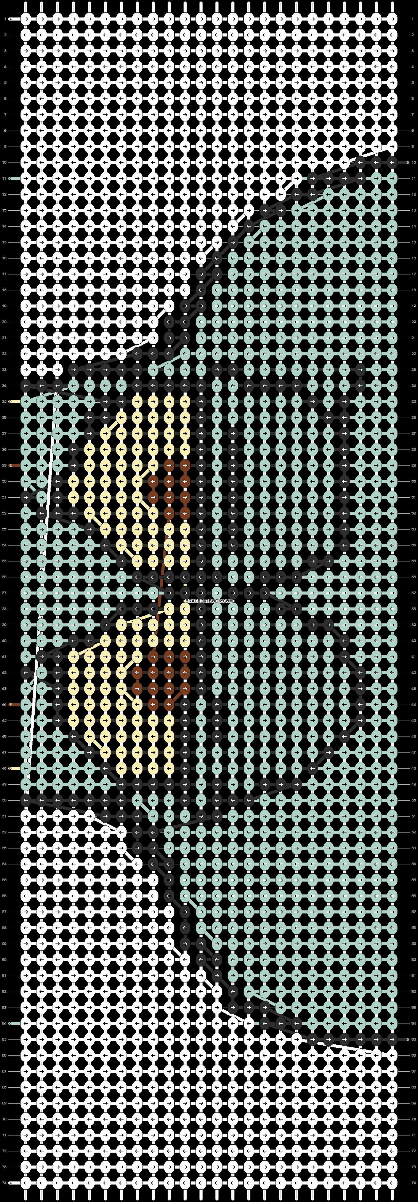 Alpha pattern #13729 pattern