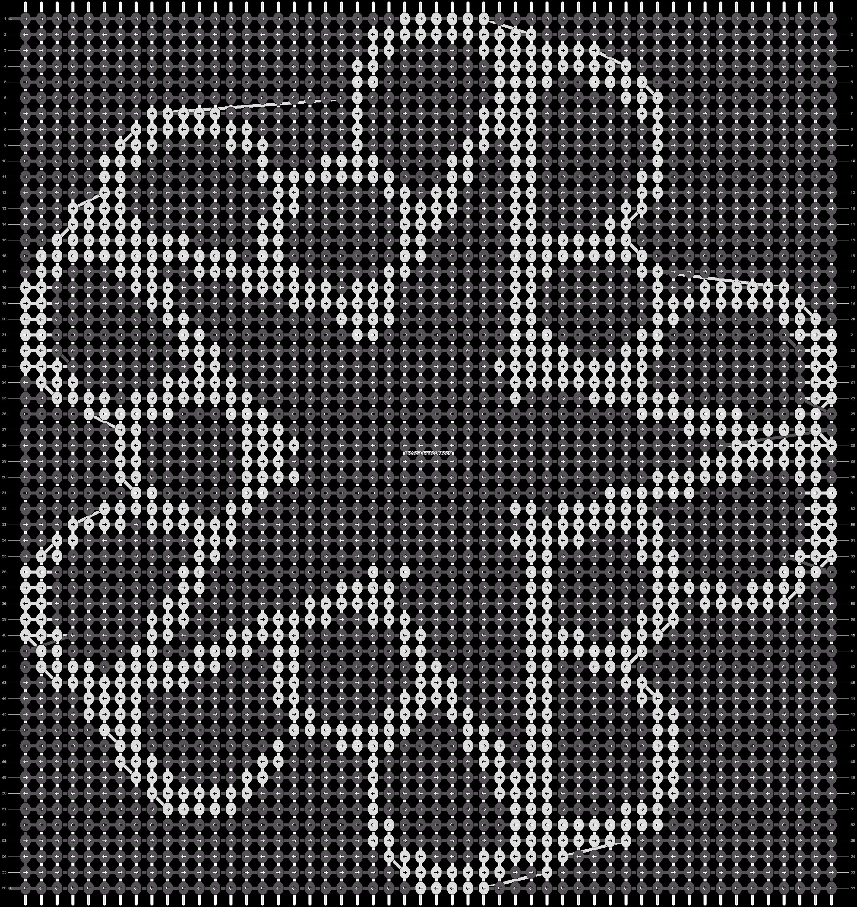 Alpha pattern #13732 pattern