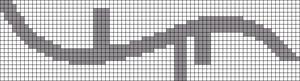 Alpha pattern #13735