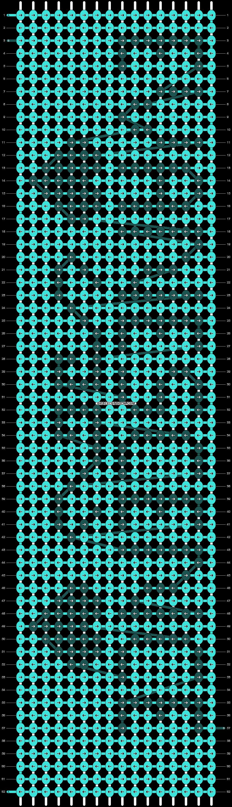 Alpha pattern #13737 pattern
