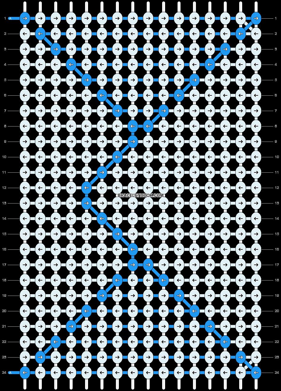 Alpha pattern #13738 pattern