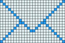 Alpha pattern #13738